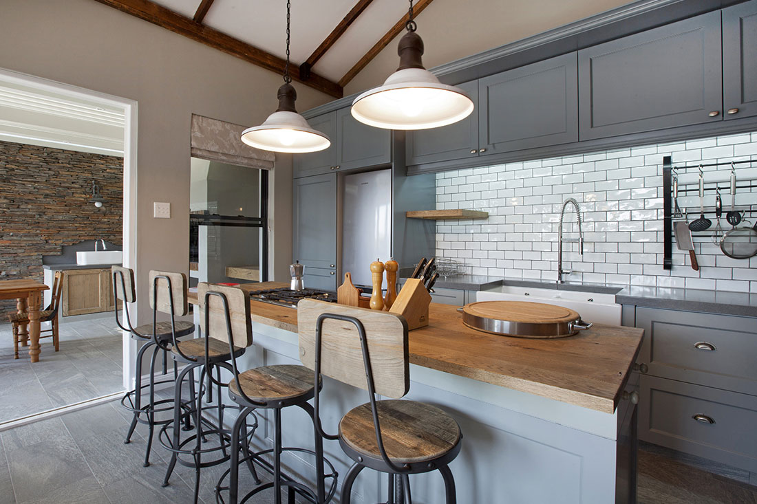 House Coetzee - Kitchen Island