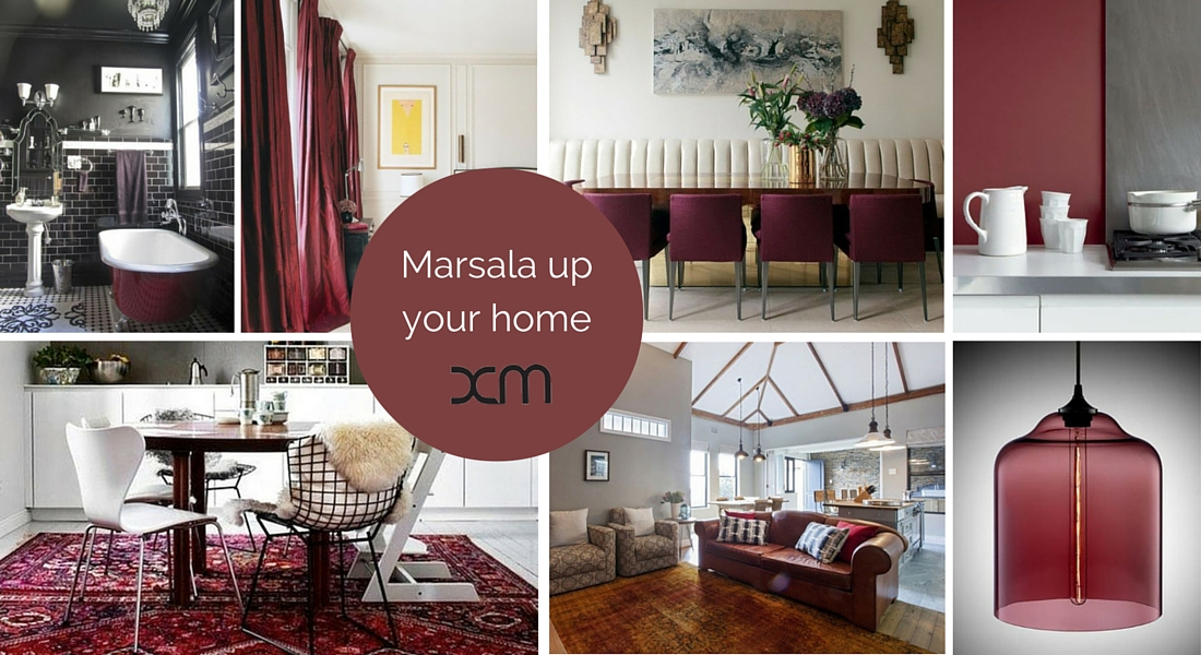 Marsala up your home