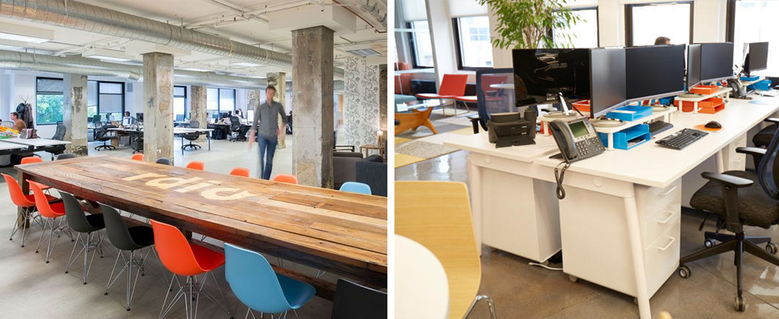 Office Design Trends Xperiencemakers Interior Architecture Design - Communal work table